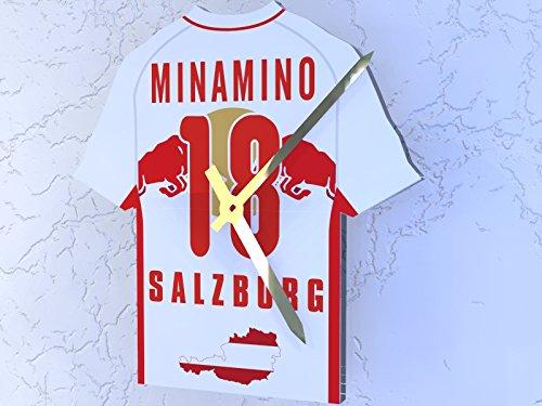 bawag Fußball Bundesliga Teams–Fußball Shirt Uhr–Jeder Name, beliebige, jedes Team, FC Red Bull Salzburg