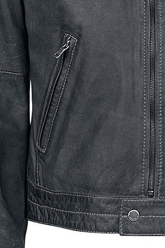 Gipsy Carlos Leder-Jacke anthrazit Anthrazit