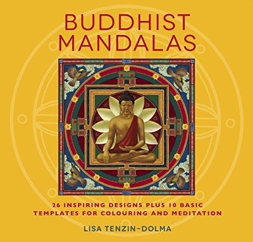 Buddhist Mandalas (Watkins Adult Coloring Pages)