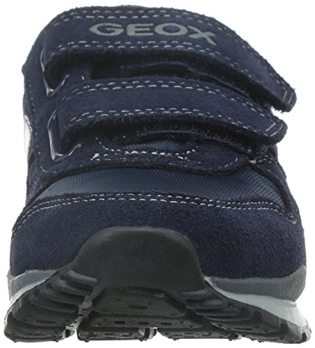 Geox Pavel A, Baskets Basses Garçon Bleu (C4021)