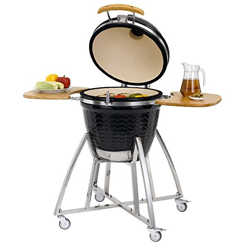 Grenada Ceramic Charcoal BBQ Grill Compatible with 47cm Grid-in-Grid System