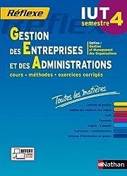 Toutes les matières IUT Gestion des Entreprises et des Administrations - Semestre 4 - Option GMO