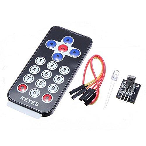 LaDicha Infrarot-Ir-Empfänger-Modul Wireless Remote Control Kit Für Arduino