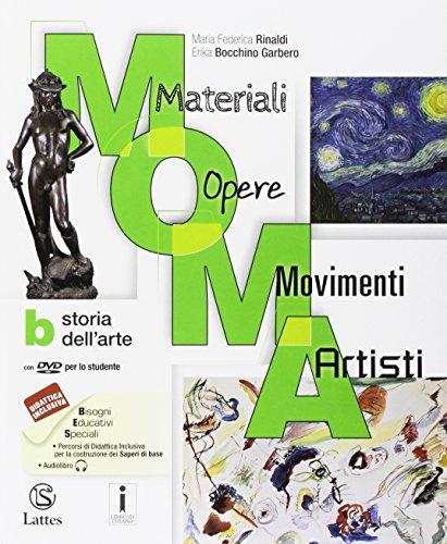 M.O.M.A. Materiali-opere-movimenti-artisti. Per la Scuola media. Con e-book. Con espansione online. Con 2 libri: Tavole-Mi preparo per l'interrogazione. Con DVD-ROM