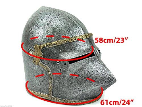 Helm eines mittelalterlichen Kriegers. Spielhelm - 4