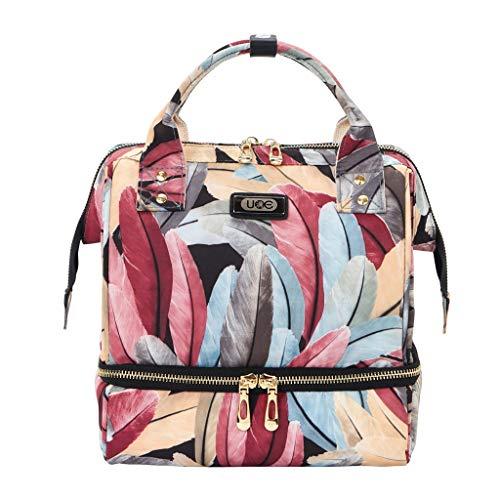 Casual Trocken und Nass Trennung Reisetasche Outdoor Sportarten Mumie Tasche Einfache Mode tragbare Schulter Mutter und Baby Tasche (Mumie Kostüm Junge)