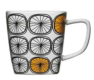 Sagaform 5016269 Dandy Mug Orange