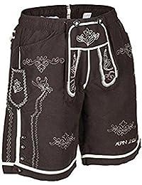 Lederhose, Bathing Trunks leather pants, brown,Lederhosen,badehose,boardshort,bavarian,bayrisch,bayerisch,munich