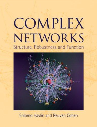 Complex Networks Hardback por Cohen