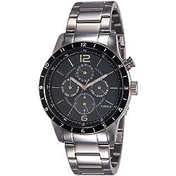 Timex E Class Analog Grey Dial Men's Watch-TWEG14804