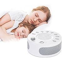 White Noise Machine, Schlafmaschine 9 Beruhigende Natural Geräuschen, USB Wiederaufladbare Entspannung Einschlafhilfe... preisvergleich bei billige-tabletten.eu