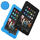 Fire 7 Hülle, Hanlesi Silikon [kinder] Leichte Schutzh Hülle Cover für das Amazon Fire 7 Tablette ( 5th generation 7