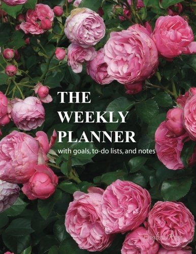 The Weekly Planner: English Rose Large 8.5