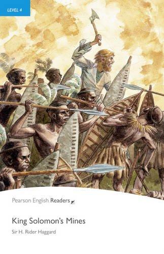 Pearson English Reader PLPR4:King Solomon's Mines & MP3 Pack (Pearson English Graded Readers)