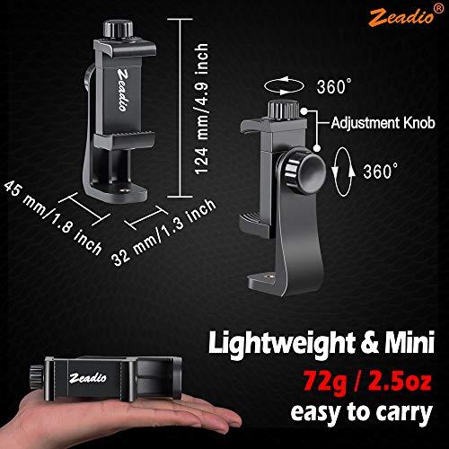 Zoom IMG-2 zeadio supporto per treppiedi smartphone