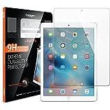 """Protection écran iPad Pro 12.9"""", en Verre Trempé, Spigen® **Easy-Install Kit** [Extreme Résistant aux rayures] **Ultra Clair** protection verre trempé iPad Pro , Protection écran pour Apple iPad Pro 12.9"""" SGP11802"""