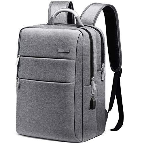 HOMIEE Business Laptop Rucksack Backpack, 15.6 Zoll Notebook Schulrucksack Computer Rucksäcke,Laptop Rucksack mit USB Lade Schnittstelle,wasserdichte Schulrucksack Unisex Daypack