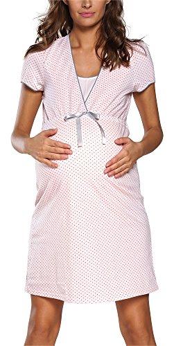 Italian Fashion IF Camicia da Notte Premaman F2L3C3T1 0114