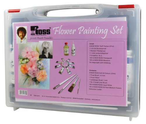 Bob Ross 50006470–Master malset Fleurs pour niveau avancé