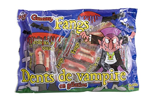 Halloween Vampir-Gebisse 120g, Fruchtgummi ideal für jede (Yoshi Kostüm Hut)