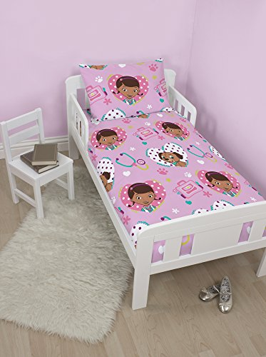 Character World Disney Doc Mc Stuffins Findo Junior Panel Duvet Set, Multi-Colour