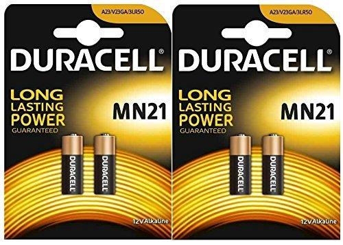 4 X 2 Packungen (Duracell A23 x 2 Packungen (4 Stück))