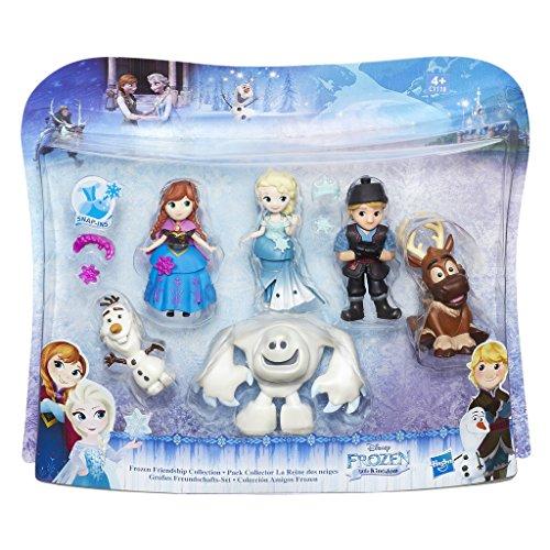 Hasbro Disney Die Eiskönigin C1118EU4 - Little Kingdom Großes Freundschafts-Set, Spielset (Disney-puppe Kleid-set)