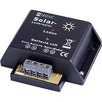 HTRONIC Kompakter Laderegler für Solarpanels, 12V, 4 A