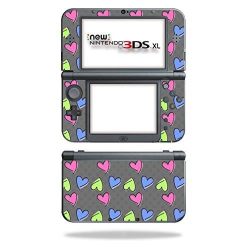 mightyskins Haut für Nintendo Schutz, langlebig, und einzigartige Vinyl Aufkleber WRA Girly 3DS XL (2015) -