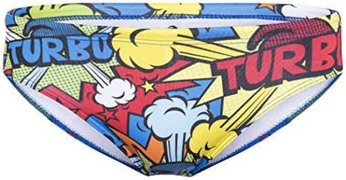 heiße Produkte glatt professionelle Website Turbo Pop Turbo Brief Men Multicolor Größe S 2017 Badehose