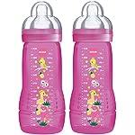 51iY5a%2BgoyL._SS150_ MAM 950501 Baby Bottle, Biberon da 330 ml, Confezione Doppia, Colori Assortiti, Bambina