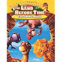 The Land Before Time Coloring Book: Great 25 Illustrations for Kids (2020)