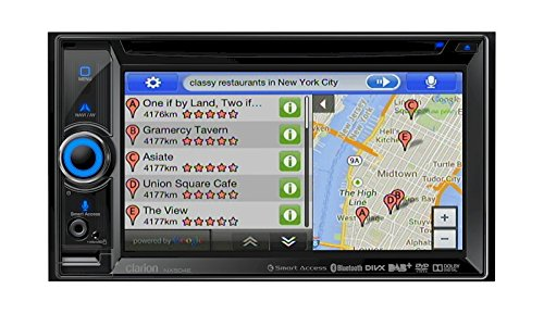 Clarion NX504E GPS Système de Navigation + Ecran Rétractable Europe Fixe, 16:9