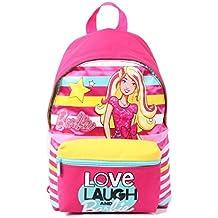 789d503b9e Zaino da Scuola Barbie, Small, 10 litri, Poliestere, Multicolore