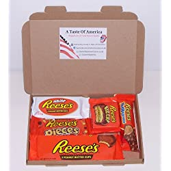 Reese's American Candy Gift Boxs - Wedding Birthday Party Retro Sweets Reeses RW