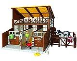 CRAZE- Bibi e Tina Bibi & Tina Insieme Stabile con i Cavalli Figure e Accessori Horse Farm 15360, Multicolore