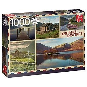 Premium Collection Greetings from The Lake District 1000 pcs Puzzle - Rompecabezas (Puzzle Rompecabezas, Arte, Niños y Adultos, Niño/niña, 12 año(s), Interior)
