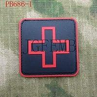 Generic 5cm Platz Das Rote Kreuz Tactical Military Moral 3D PVC Patch rot weiß schwarz: PB686 preisvergleich bei billige-tabletten.eu