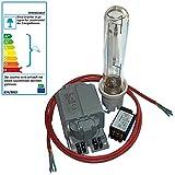 Bausatz mit 400 Watt GroXpress für Pflanzenbeleuchtung Blüte Wuchs Wachstum NAV-T Natriumdampflampe