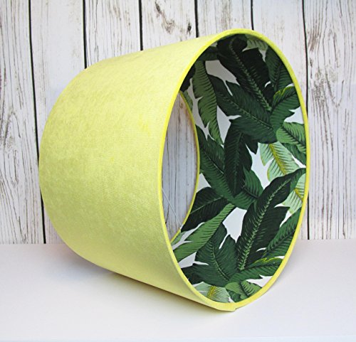 lampshade-hand-rolled-in-a-yellow-velvet-with-a-botanical-fabric-interior-choice-of-colours