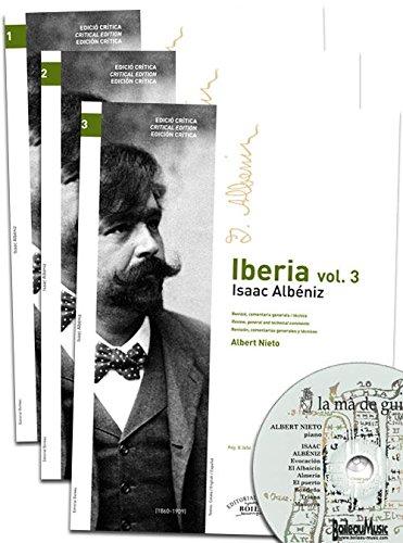 Iberia, Vols. 1, 2 y 3 por Isaac Albéniz Pascual
