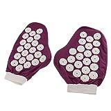 MagiDeal Akupunktur Massage Handschuhe - 1 Paar Ganzkörpermassage Handschuhe für Schmerzlinderung, Muskel Erleichterung