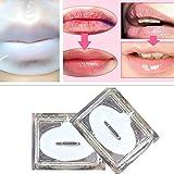 gstone 1pieza Exfoliante Colágeno Máscara de labios hidratante esencia labios cuidado Antienvejecimiento-Antiarrugas parche Pad Gel Tratamiento de labios bálsamo Lip Care Exfoliar labios máscara