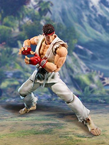 Street Fighter- Ryu Figura 15 Cm V SH Figuarts, Multicolor (BDISF051930) 4