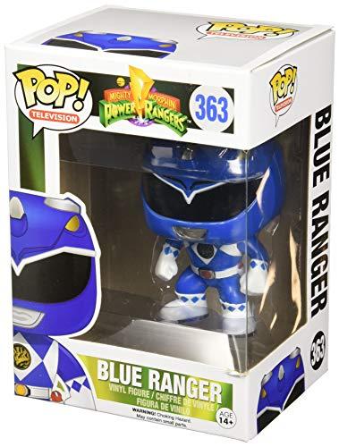 Funko-10311 Power Rangers Blue Ranger Figura de Vinilo,, Estándar (10311)