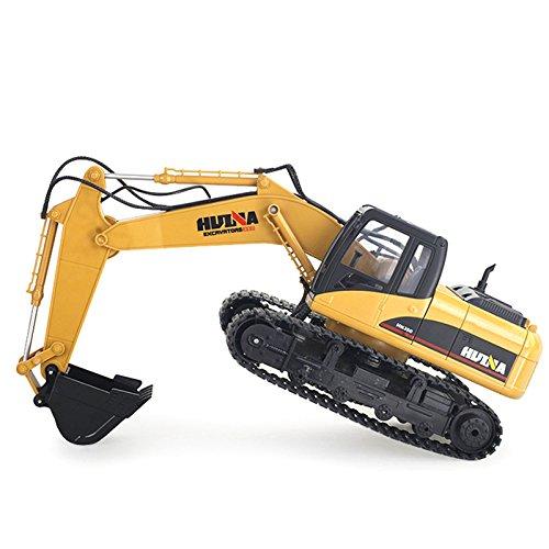 RC Auto kaufen Baufahrzeug Bild 5: FM1550 | Ferngesteuerter Kettenbagger mit voller Funktion, Bagger mit Fernsteuierung, ferngesteuert mit Akku und Ladegerät*