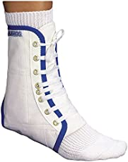 Mikros Fußgelenkstütze 110 Stabil, weiß, Größe M (Schuhgröße 41-43)
