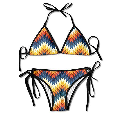 1231db9f2e8 Hipiyoled Bikini para Mujer Establece el increíble patrón de impresión Trajes  de baño