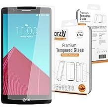 Orzly® - LG G4 Prima Cristal Templado Protector de Pantalla - 0,24mm Protectora para LG G4 SmartPhone / Teléfono Móvil (2015 Modelo)