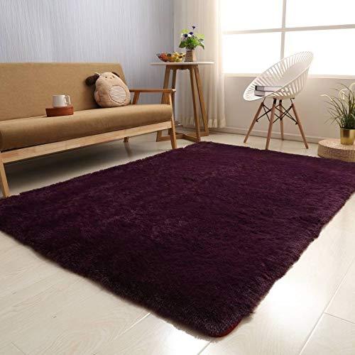 Coffee table blanket living room bedroom bedside tatami mat full shop home carpet simple blanket floor mat-Camel Leopard Print,320x400cm -